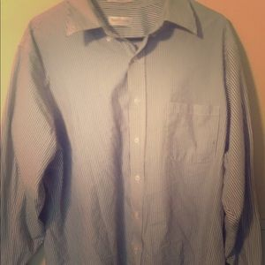 Van Heusen Blue-Striped dress shirt